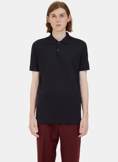 Contrast Ribbon Polo Shirt