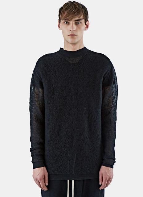 Oversized Woven Sweater