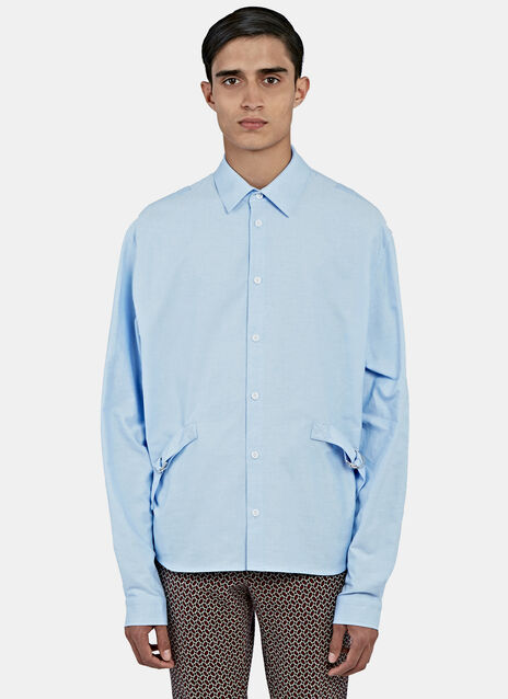 Strapped Oxford Shirt