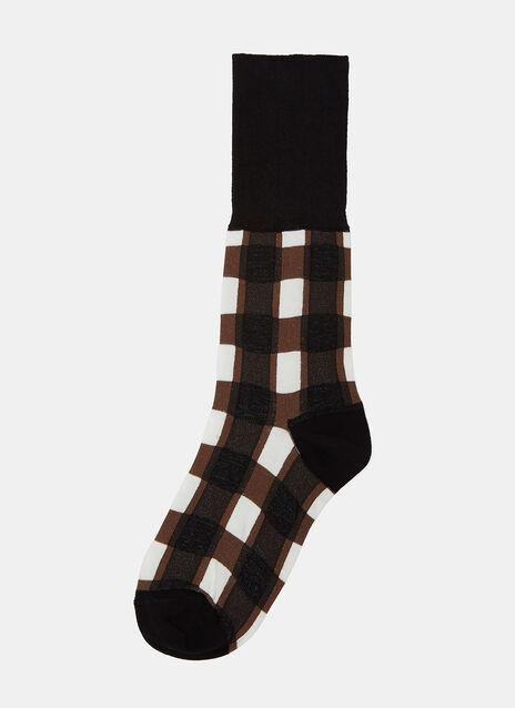 Scozzese Jacquard Socks