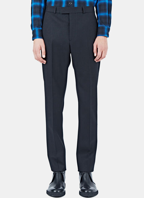 Textured Tailored Pants