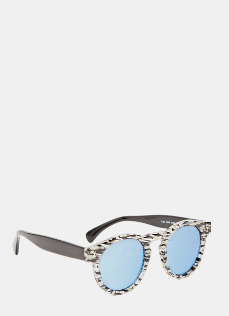 Leonard Eco Shattered Stripe Sunglasses