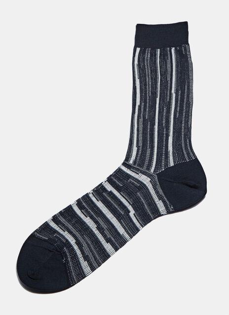 #3 Ribbed Stripe Socks