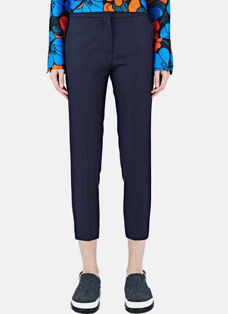 Tailored Straight Leg Pants