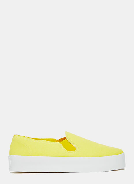 Our Family Shoes yellow Slip- On