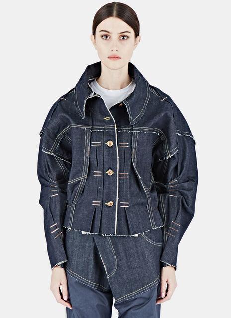 Raw Denim Trucker Jacket