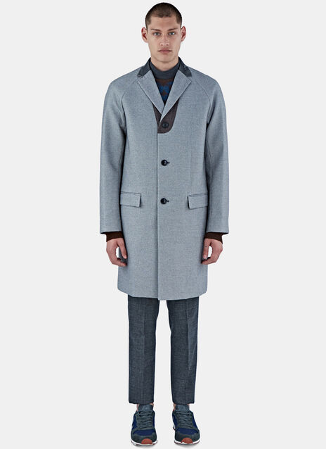 Houndstooth Tailored Coat