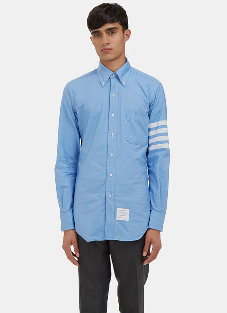 4 Bar Oxford Shirt