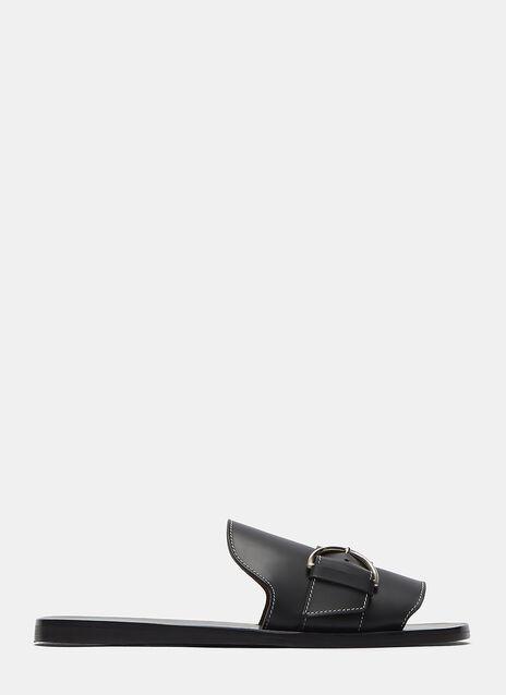Acne Virgie Flat Slip On Sandal