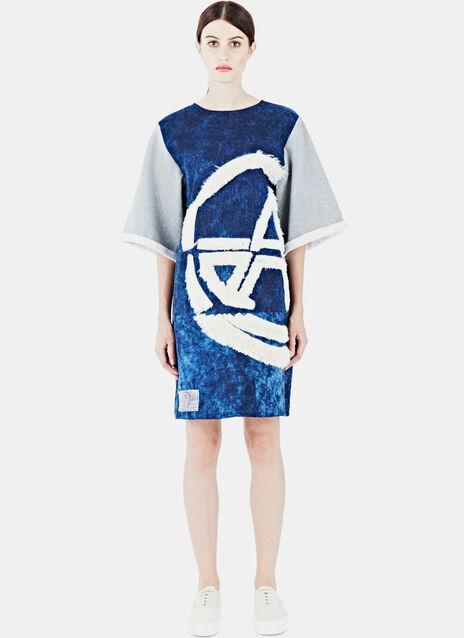Denim Sweat Dress