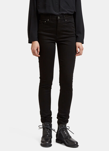 Acne Pin Black Length 32 Jeans