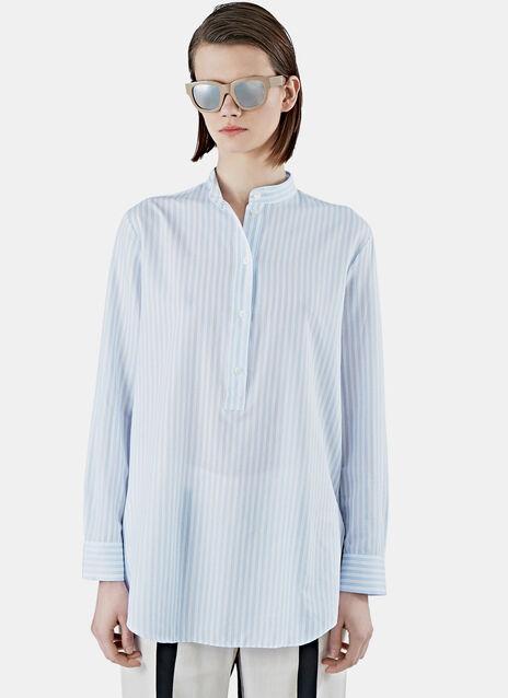 Galvin Striped Tunic Shirt