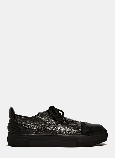 Image of Barny Nakhle Fabric Shuttle Low Sneakers