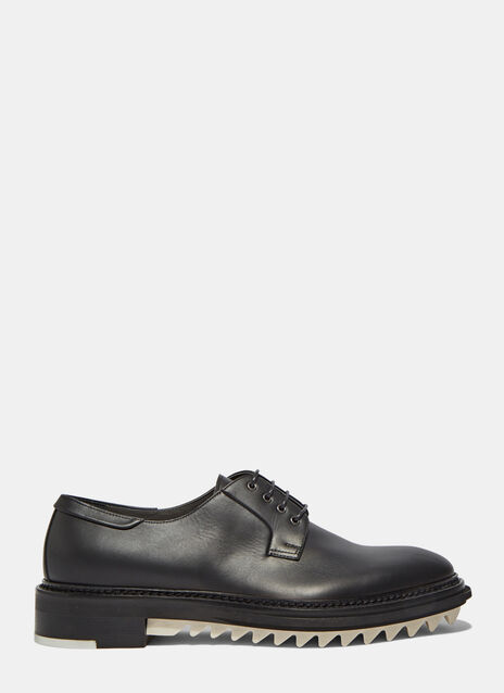Chunky Leather Derby Shoes
