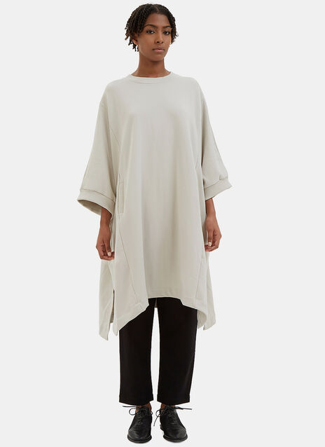 Place To Be Oversized Jersey Cape Sweater
