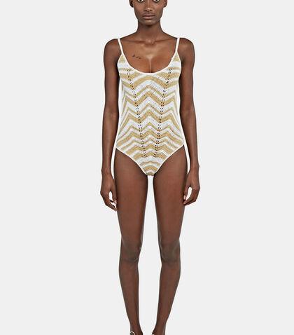 Honey Zigzag Swimsuit
