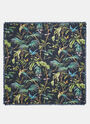 Tropical Print Silk Scarf