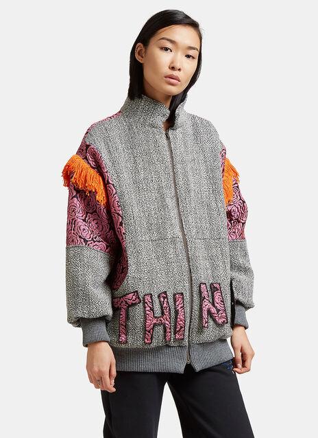 Tasselled Tweed Jacket