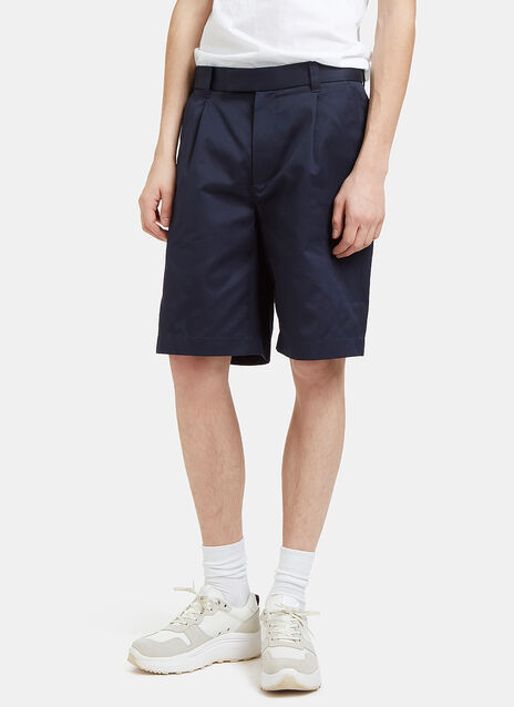 Twill Pleat Shorts