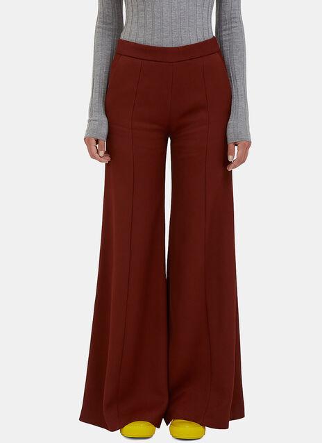 Melora High-Waisted Ribbed Pants