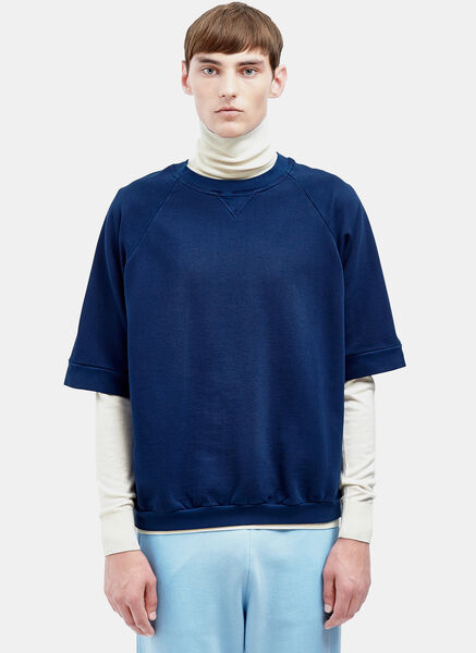 Image of AIEZEN Cropped Crew Neck Sweatshirt