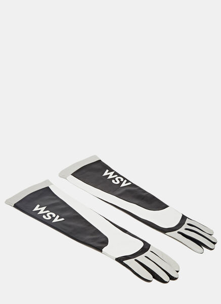 Image of Anne Sofie Madsen Aristide Long Leather Gloves
