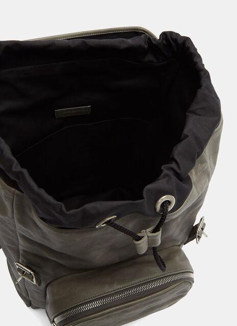 Tuscany Washed Leather Hunter Backpack