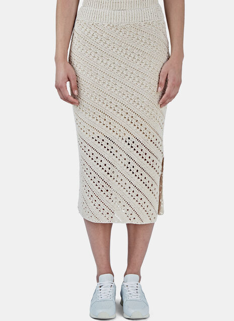 Miller Crochet Knit Pencil Skirt