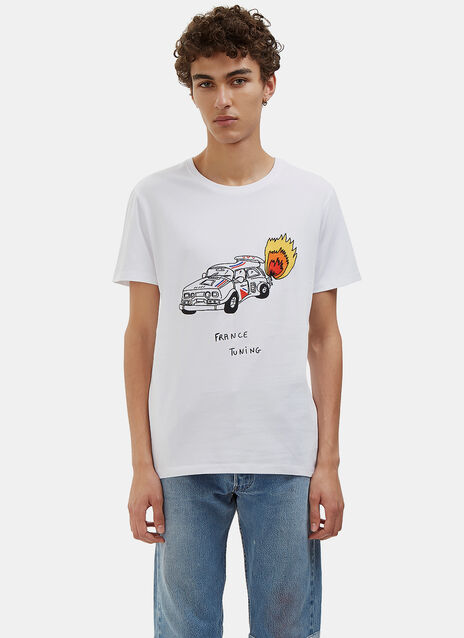 France Tuning Crew Neck T-Shirt