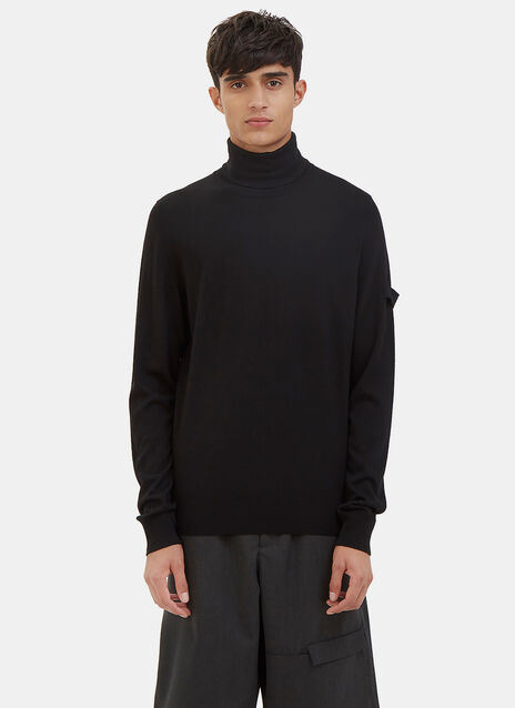 Officer Roll Neck Sweater