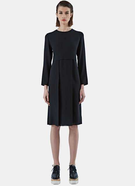 AGNONA LS PLEATED DRESS