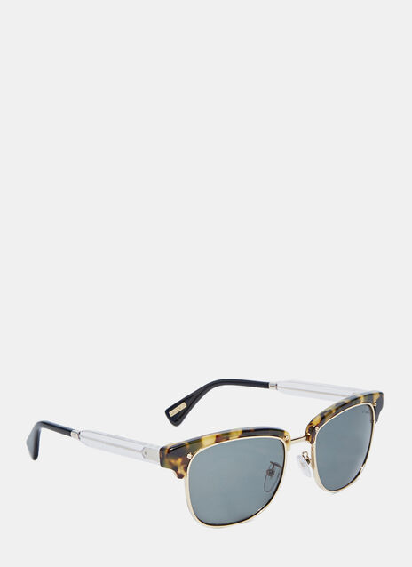 Clubmaster Squared Frame Sunglasses