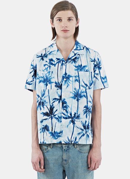 SS16: Saint Laurent Short Sleeved Surfer Shirt