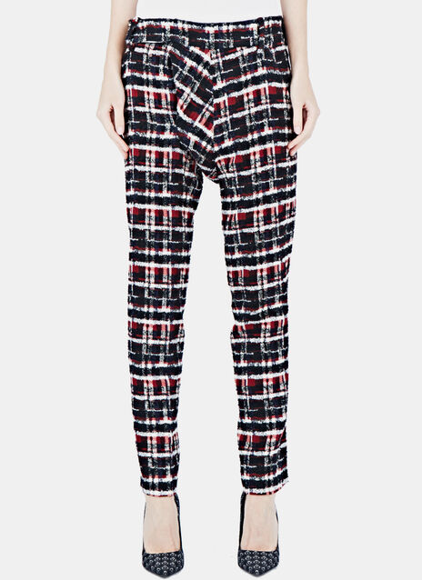 Tartan Tweed Pants
