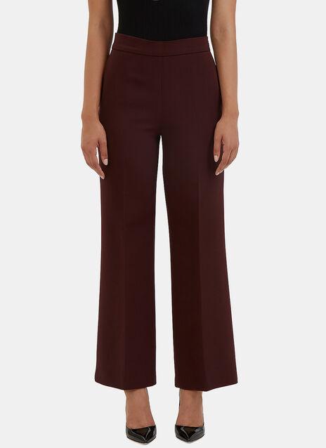Wide Leg Flared Pants