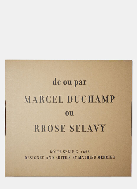 Duchamp: Museum in a box (De ou par Marcel Duchamp)