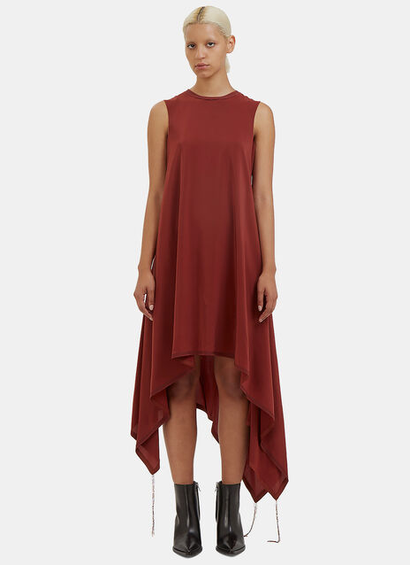 Elettra Long Asymmetric Dress