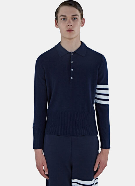 4 Bar Cashmere Polo Shirt
