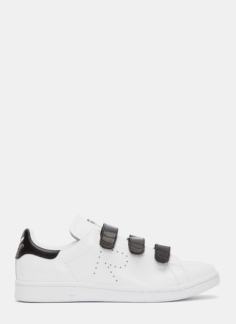 Velcro Strapped Stan Smith Sneakers