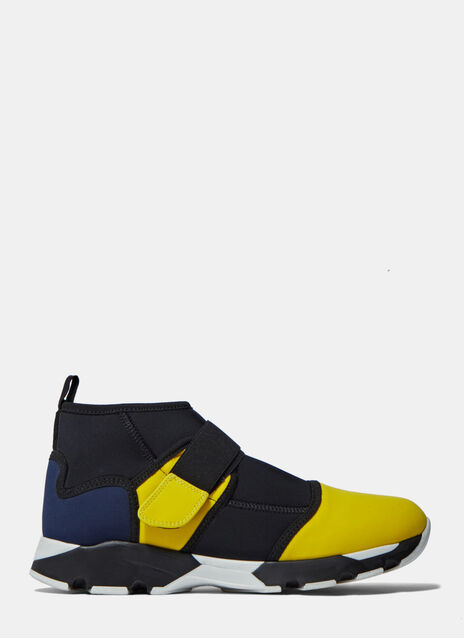 Ankle Strapped Sneakers