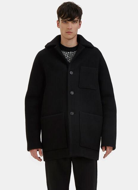 Min Oversized Wool Coat