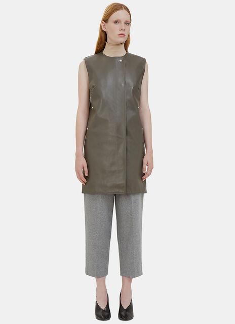 Civalo Sleeveless Leather Dress