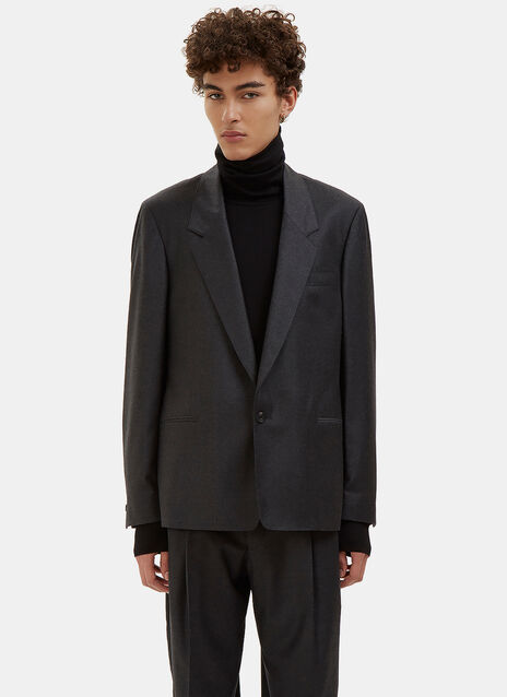 Single-Breasted Tailored Jacket