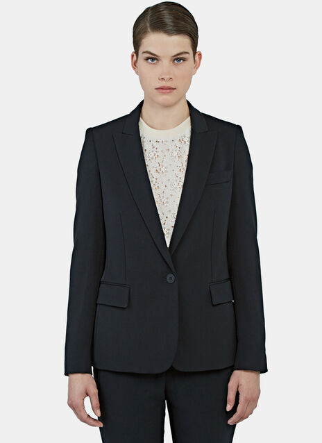 Ingrid Single-Breasted Blazer Jacket