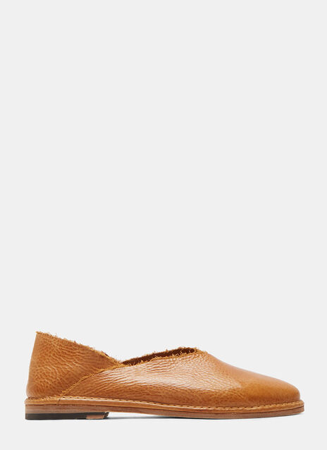 04 Patti Slip-On Leather Shoes