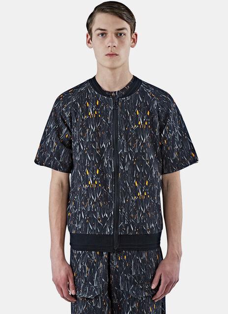Zip-Up Short Sleeved Jacket