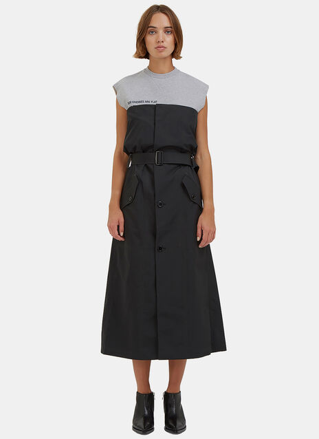 KTC Long Technical Sleeveless Dress