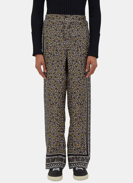 Geometric Printed Pyjama Pants
