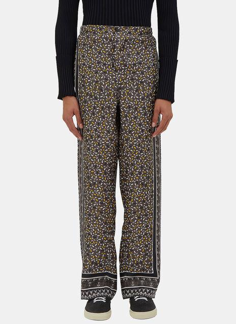Geometric Printed Pyjama Pants