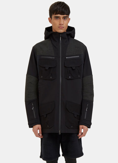 Soft Shell Layer Parka Jacket